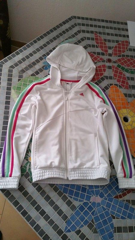 Veste survêtement Adidas fille taille 11-12 ans