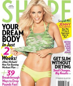 Repin if you love our first cover model of 2013: Jenny McCarthy!