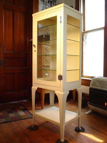 Metal Pharmacy Cabinet · Vintage Medical ...