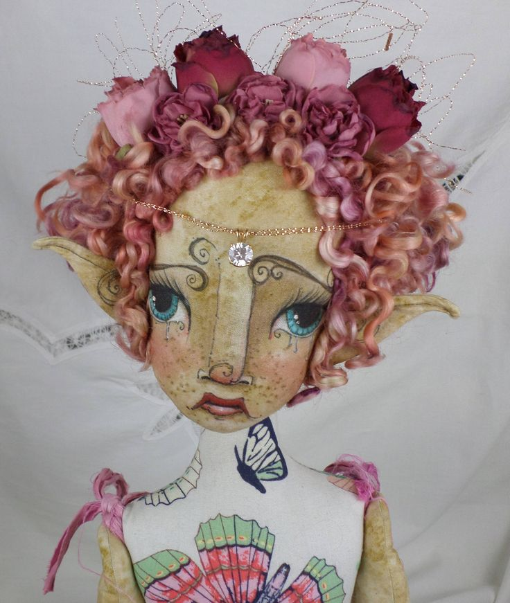 Excited to share the latest addition to my #etsy shop: Handmade OOAK Fairy | Olivia Rose Ravenwood | Fantasy Art Big Eye Doll | Art Doll | Doll Collectors | Paula McGee http://etsy.me/2BQKkaa #toys #pink #birthday #christmas #white #fairydollsooak #fairiesandpixies #ar