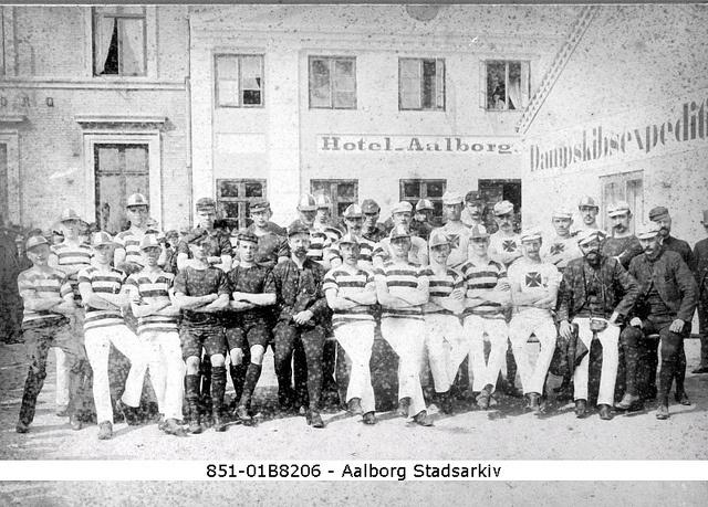 football, Aalborg 1912 by Aalborg Stadsarkiv, via Flickr