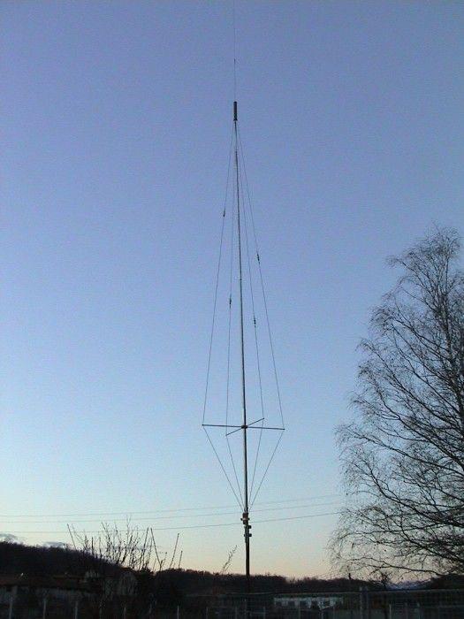 Homebrew Multiband Vertical HF Antenna | Приключение | Pinterest ...