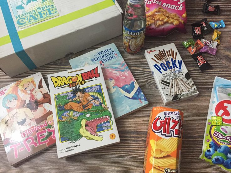 Manga Spice Cafe is a subscription that sends current manga issues + Japanese snacks. See my May 2017 review for details!   Manga Spice Cafe May 2017 Subscription Box Review →  https://hellosubscription.com/2017/07/manga-spice-cafe-may-2017-subscription-box-review/ #MangaSpiceCafe  #subscriptionbox