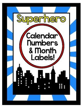 Classroom Calendar! Functional Classroom Decoration ~Add Animation to Your Classroom Calendar~ Use as a permanent part of your classroom, or fade as necessary! Included: - Calendar Numbers - Calendar Month Labels - 31 Holiday Labels - Early Release Labels - No School Labels