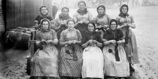 Fisher lassies knitting - do you have maritime history in your family tree? The Scottish Fisheries Museum at Anstruther has a wealth of historical information and memorabilia for you to view.