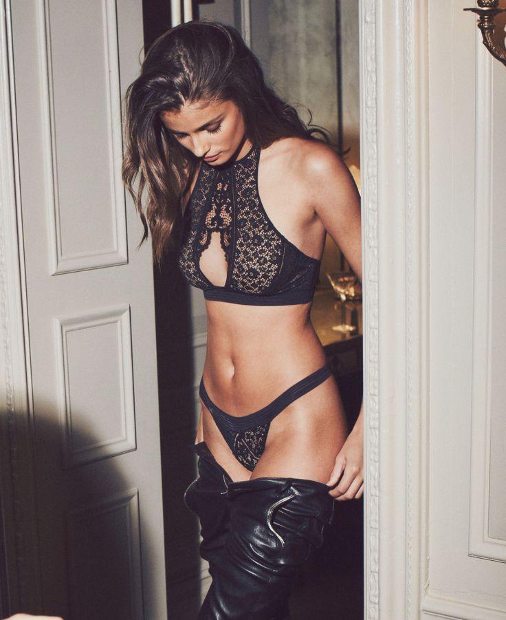 Dress code: black leather & lace. | Victoria's Secret
