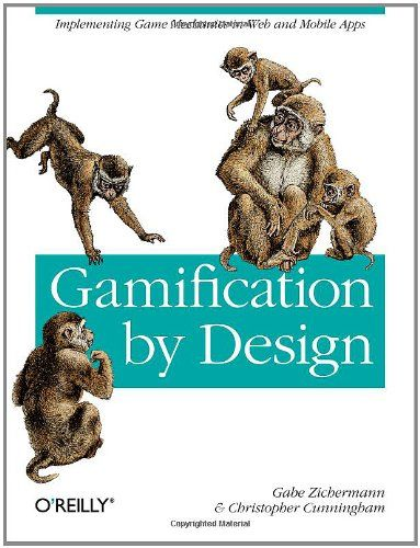 Gamification by Design: Implementing Game Mechanics in Web and Mobile Apps by Gabe Zichermann http://www.amazon.com/dp/1449397670/ref=cm_sw_r_pi_dp_RcDZtb0BV3728JA3