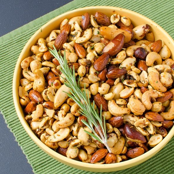 Slapilicious Smoked Nuts with Rosemary Butter | Slap Yo' Daddy BBQ