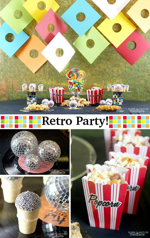 Retro Party!! Snacking through the Decades!