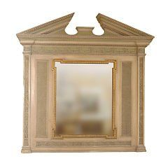 Glass Mantel Mirrors and Fireplace Mirrors