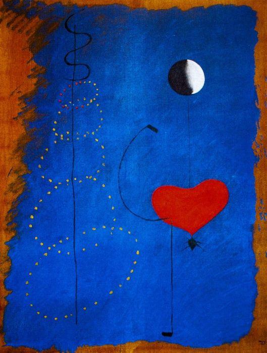 Joan Miró - Surrealism & Abstraction - Danseuse II - 1925