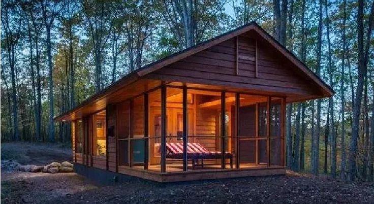 De l'extérieur, ce n'est qu'une cabane minuscule... Mais de l'intérieur, c'est GRANDIOSE !