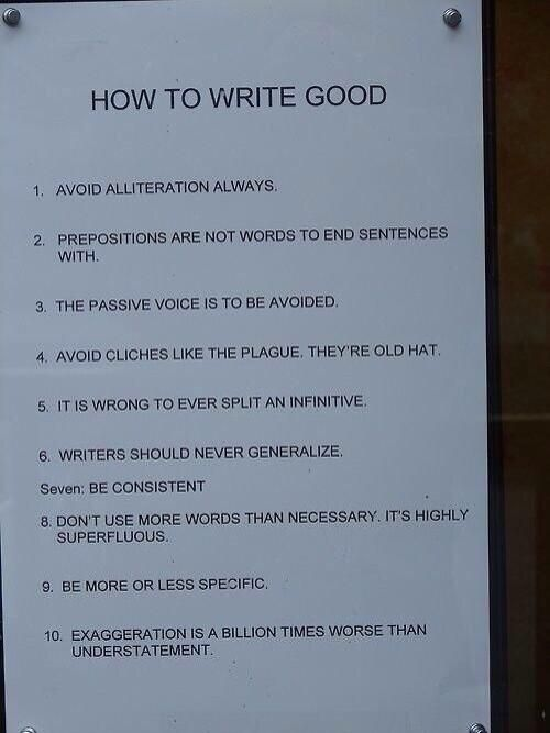 How to become a good writer in english