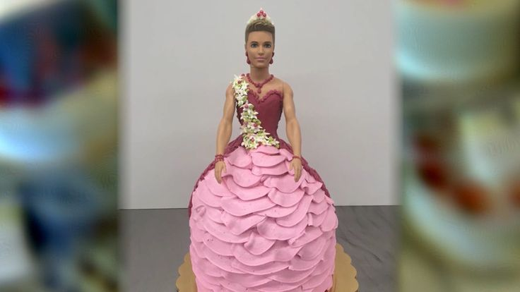 USA: Pastel del muñeco Ken con un vestido de princesa, crea controversia en redes