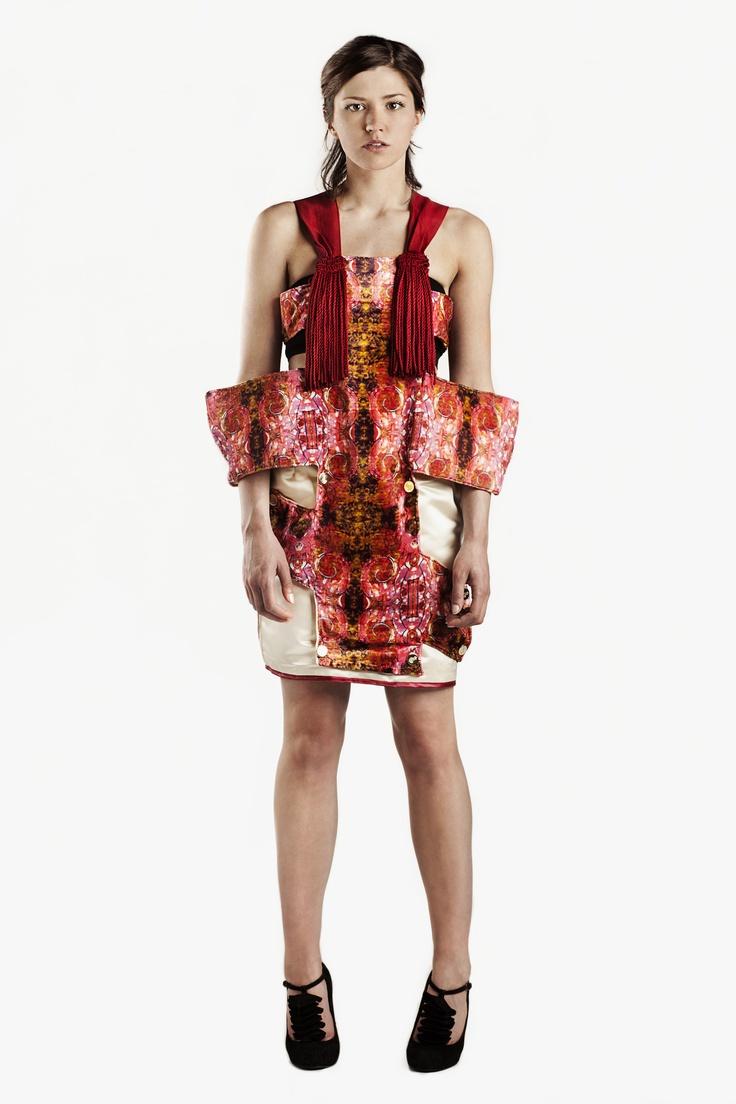 Fashion and Textile Design: Kate Williams [photographer Justyna Kloch retoucher Liliya Ivanova]