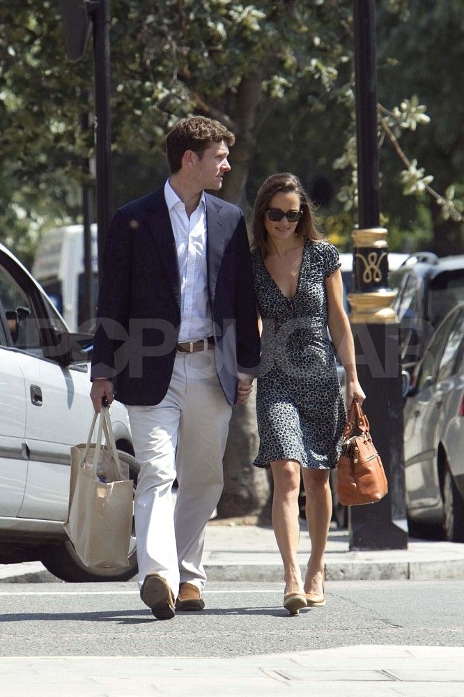 Pippa Middleton and Alex Loudon Look Loved-Up on Their Way to Cricket