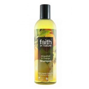 Tělo, ruce, vlasy - Faith in Nature přírodní šampon BIO Grapefruit&Pomeranč 250ml