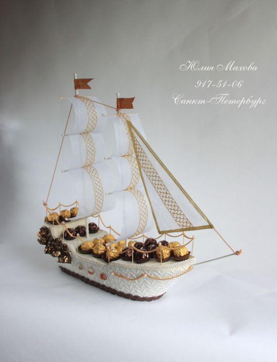 Gallery.ru / Фото #28 - Корабли из конфет в СПб - MamaYulia
