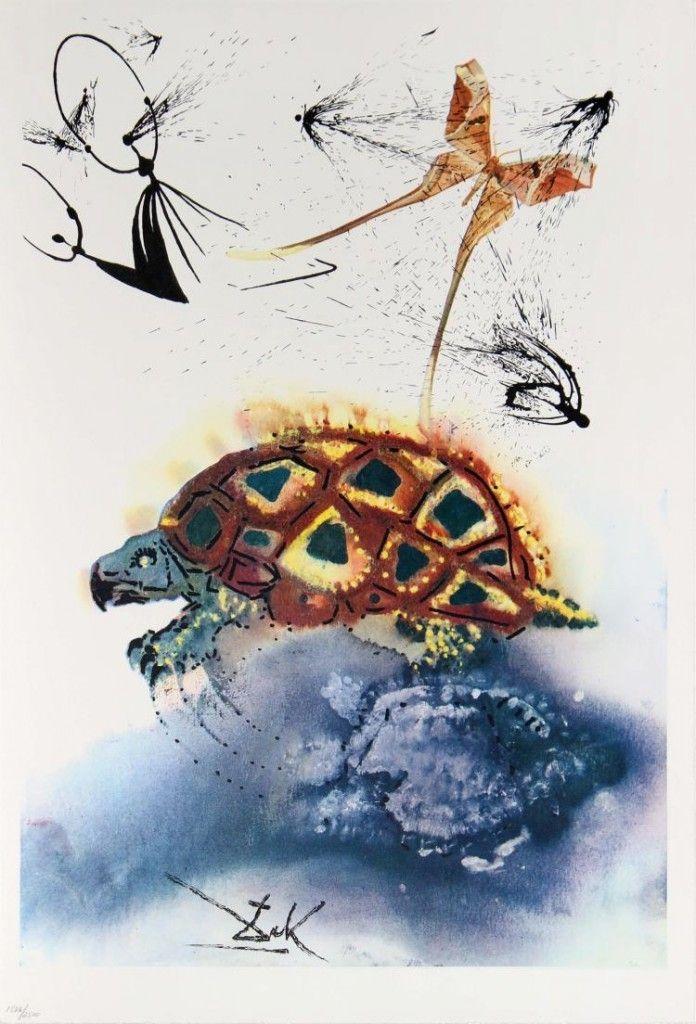 Salvador Dalí, The Mock Turtle's Story, 1969