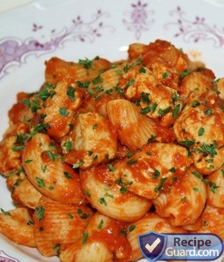 Easy Macaroni Recipe with Tomato and Chicken