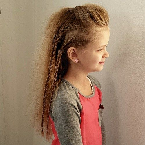 Medium haircuts for little girls with straight hair