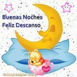 Buenas Noches Feliz Descanso