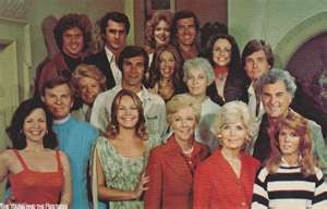 """The Young and the Restless original cast for the early 1970's.  Remember the original """"Brooks"""" family?"""