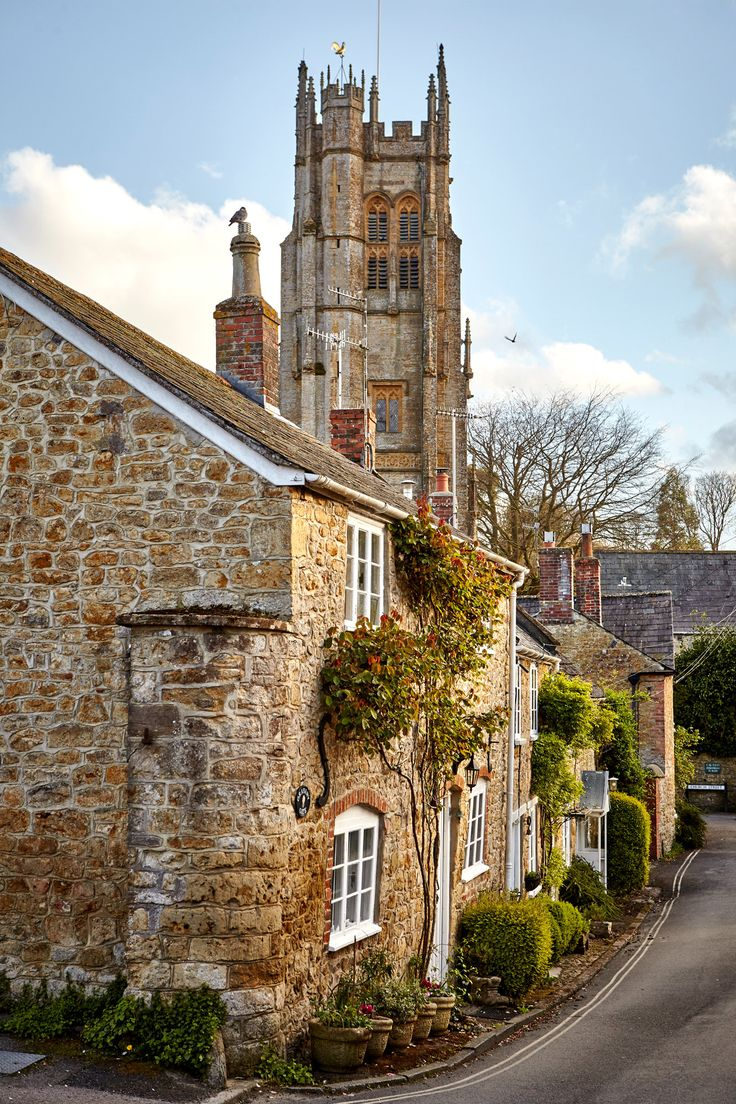 "Beaminster features in ""Tess of the Durbervilles"" under the name Emminster. Photo from a NY Times article on Hardy Country 