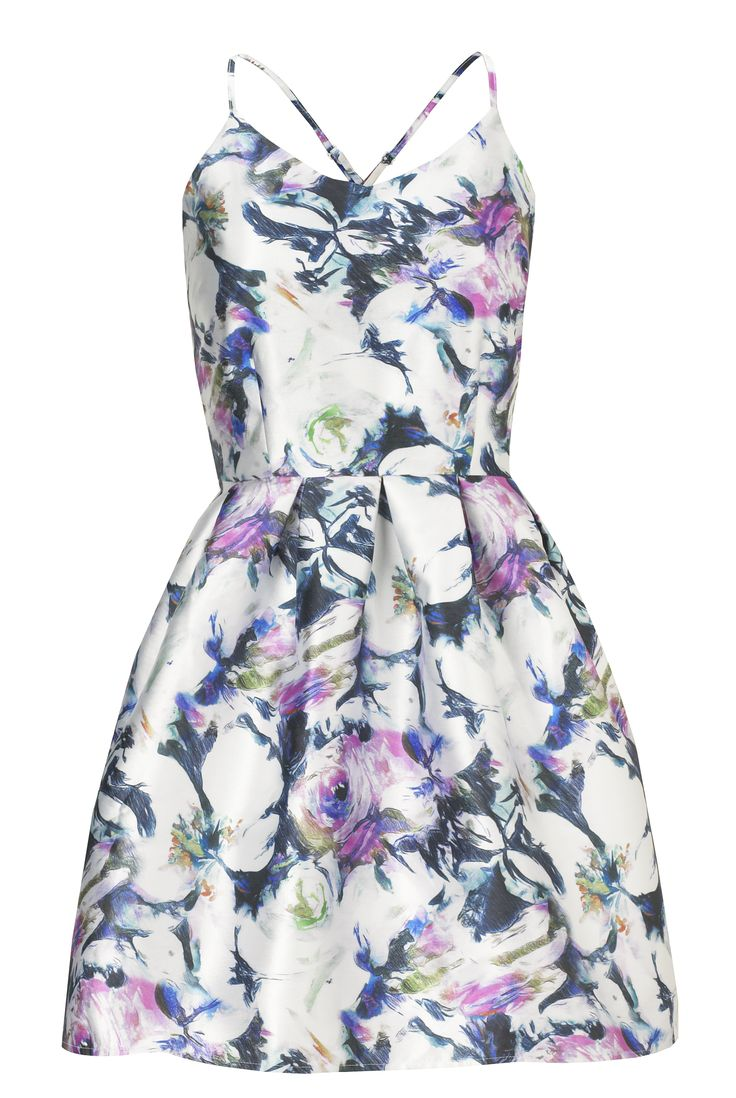 Sistaglam Lillian Multicolour Floral Satin Look Cami Dress £60.00 http://www.sistaglam.co.uk/category/sistaglam/sistaglam-lillian-multicolour-floral-satin-look-cami-dress-1801