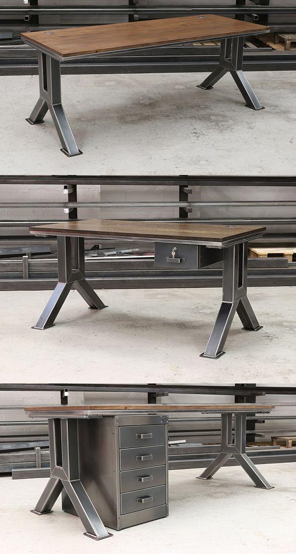 The Engineering Desk In 2019 House Vintage Industrial Furniture