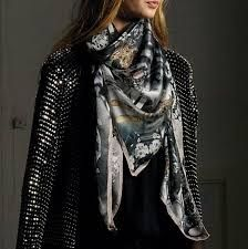 Jane Carr - The costume square (blush) scarf