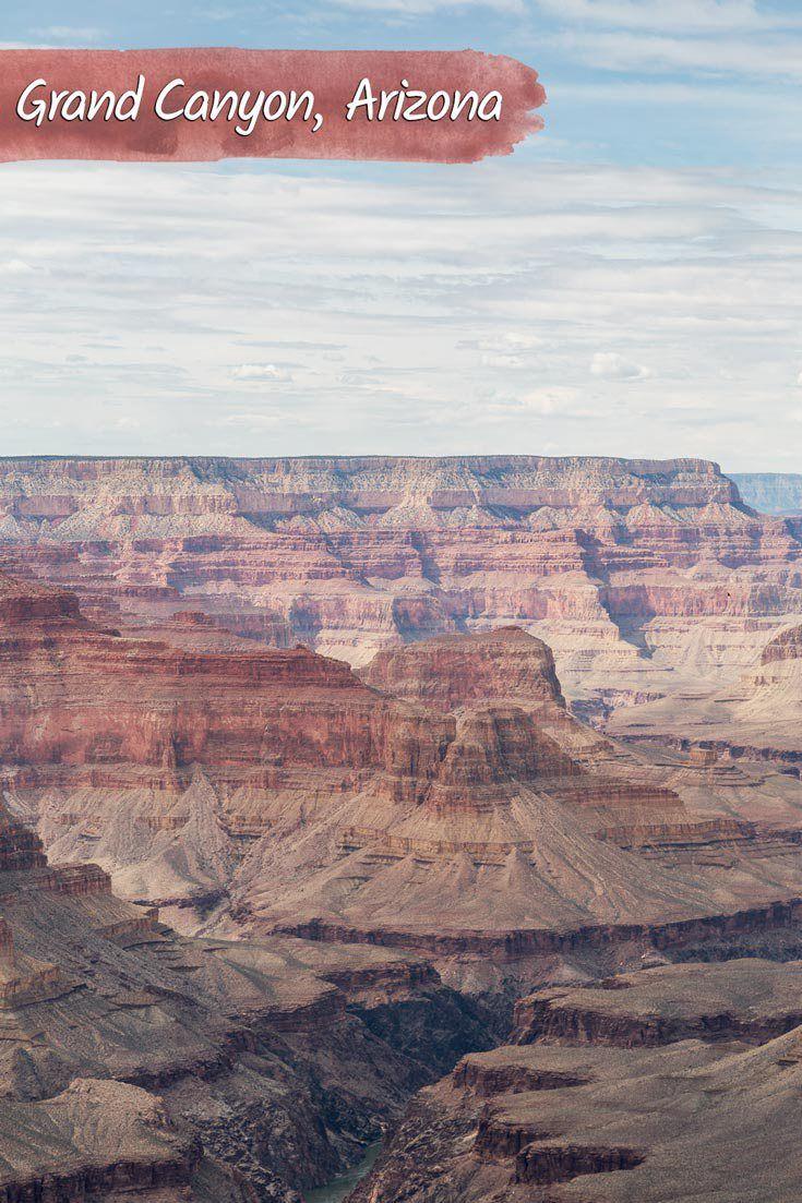 Parques nacionais do EUA: Grand Canyon, Arizona. Afinal quem é que nunca sonhou em ver o Grand Canyon de perto! A paisagem e a vista são incríveis mesmo! Inclua na sua próxima viagem para os Estados Unidos