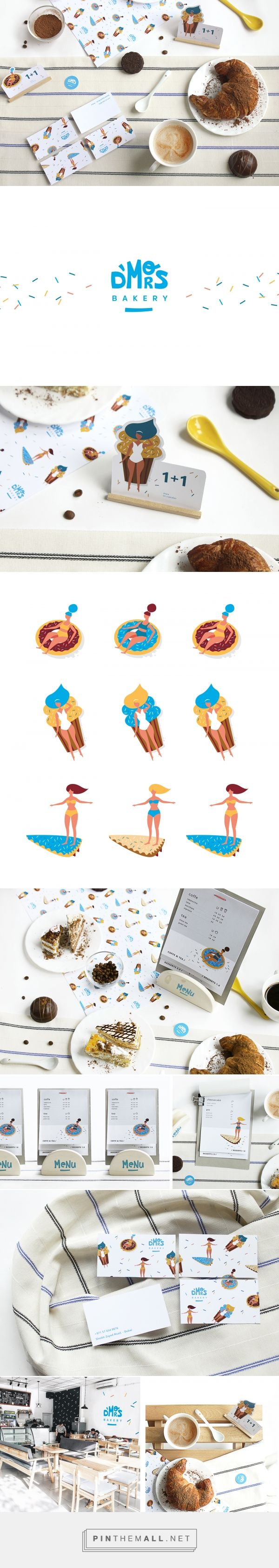 D`MORS Bakery Branding by Mariya Anfilatova   Fivestar Branding Agency – Design and Branding Agency & Curated Inspiration Gallery