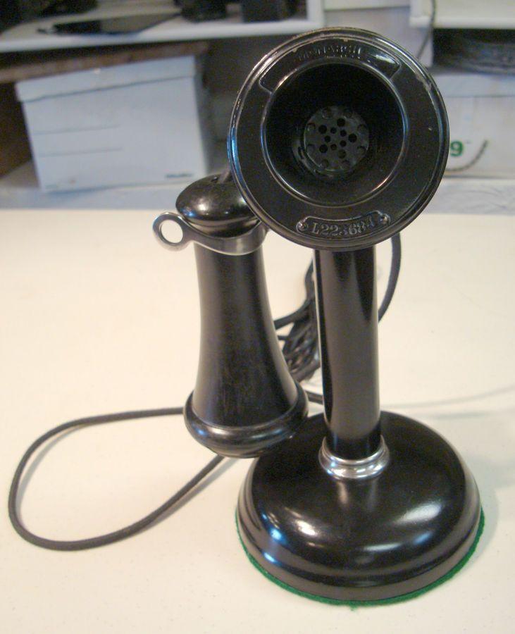 1914 Monarch Candlestick Telephone | eBay
