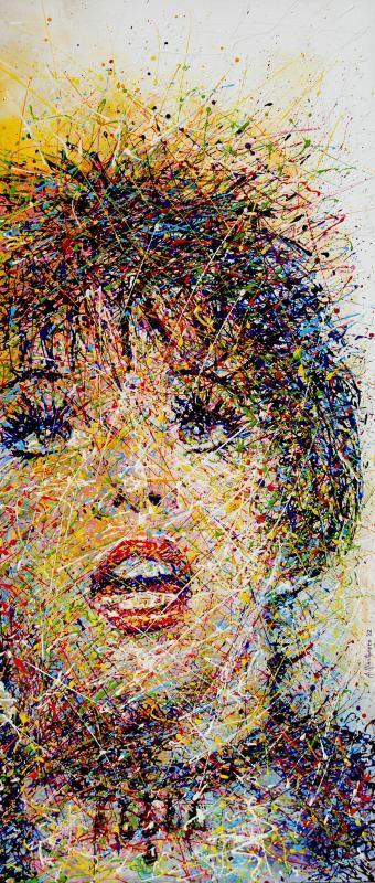 """""""LIZA MINELLI"""" Pittura Tela, 46 x 105 cm, 2012  contatti: studio.montanaro.mt@gmail.com tel.0835 312459  Studio Montanaro  vendita quadri realizzazione di serigrafie originali su tela, ritratti su commissione firmati Antonio Montanaro  leggi l'articolo on-line per conoscere l'artista : """"ARTE: Una sinfonia di colori. I lavori di Antonio Montanaro"""" ---> http://hubblog.it/2013/10/arte-una-sinfonia-di-colori-i-lavori-di-antonio-montanaro/"""