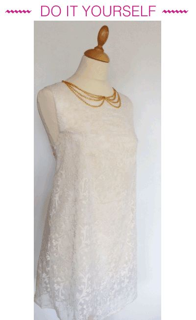 robe trapèze bohème dentelle - tuto mondial tissu