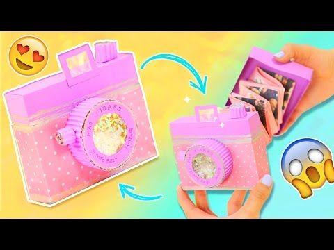 Cómo hacer una tarjeta cámara acordeón para regalo ~ Craftingeek
