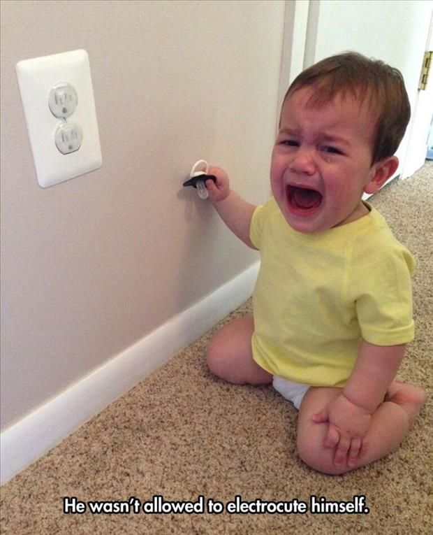 40 Funny Reasons Kids Cry