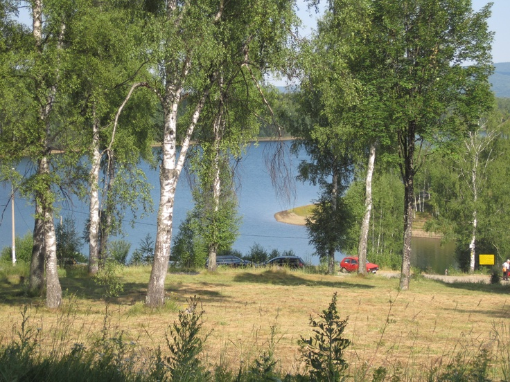 Vlasinsko Jezero - Hotel Vlasina iza nas :-)