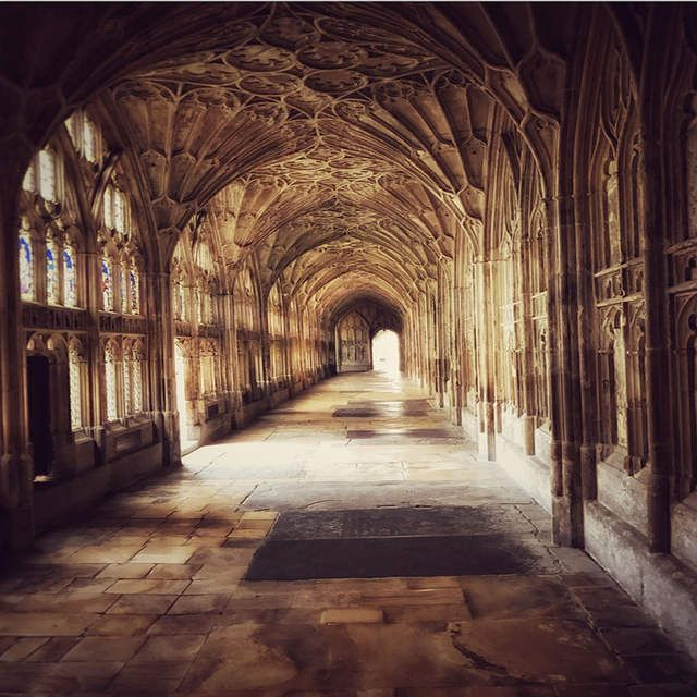 Online Shop 8x8ft Harry Potter Hogwarts Monastery Abbey Passage