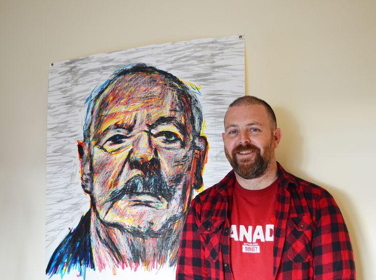 Visual art teacher named Black Swan Portrait Prize finalist