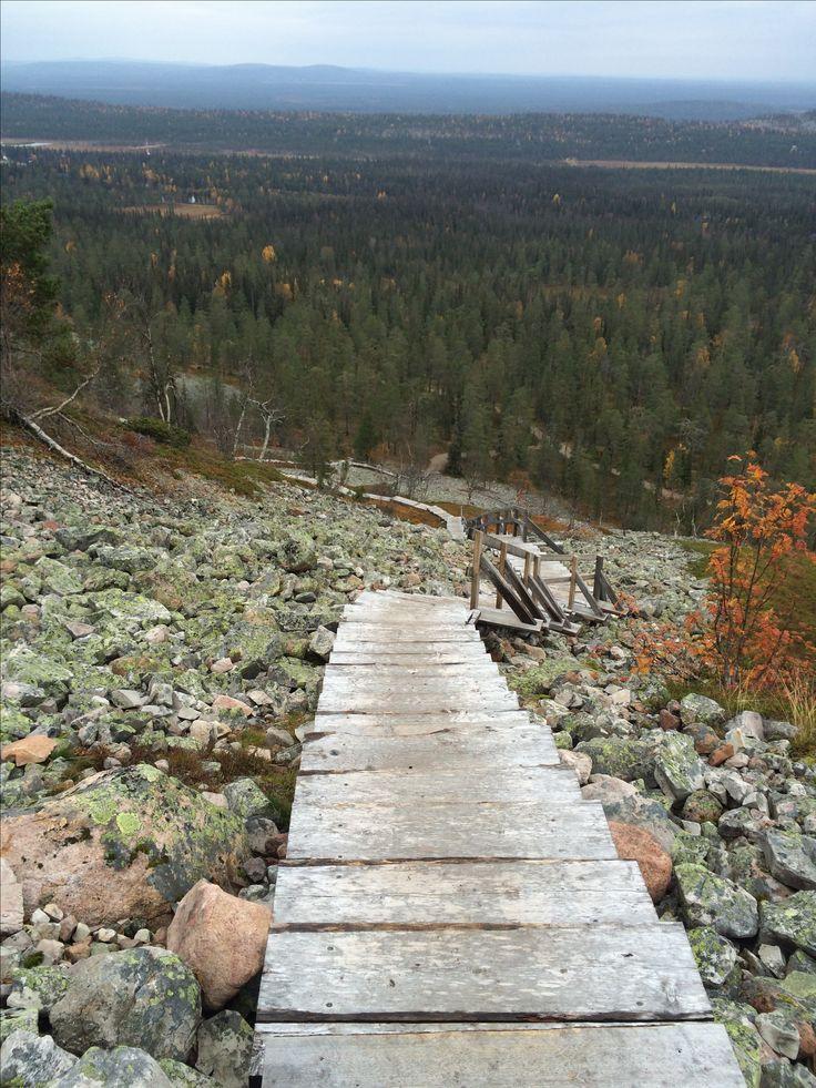 Luosto. Lapland. Finland. Hiking. Nature