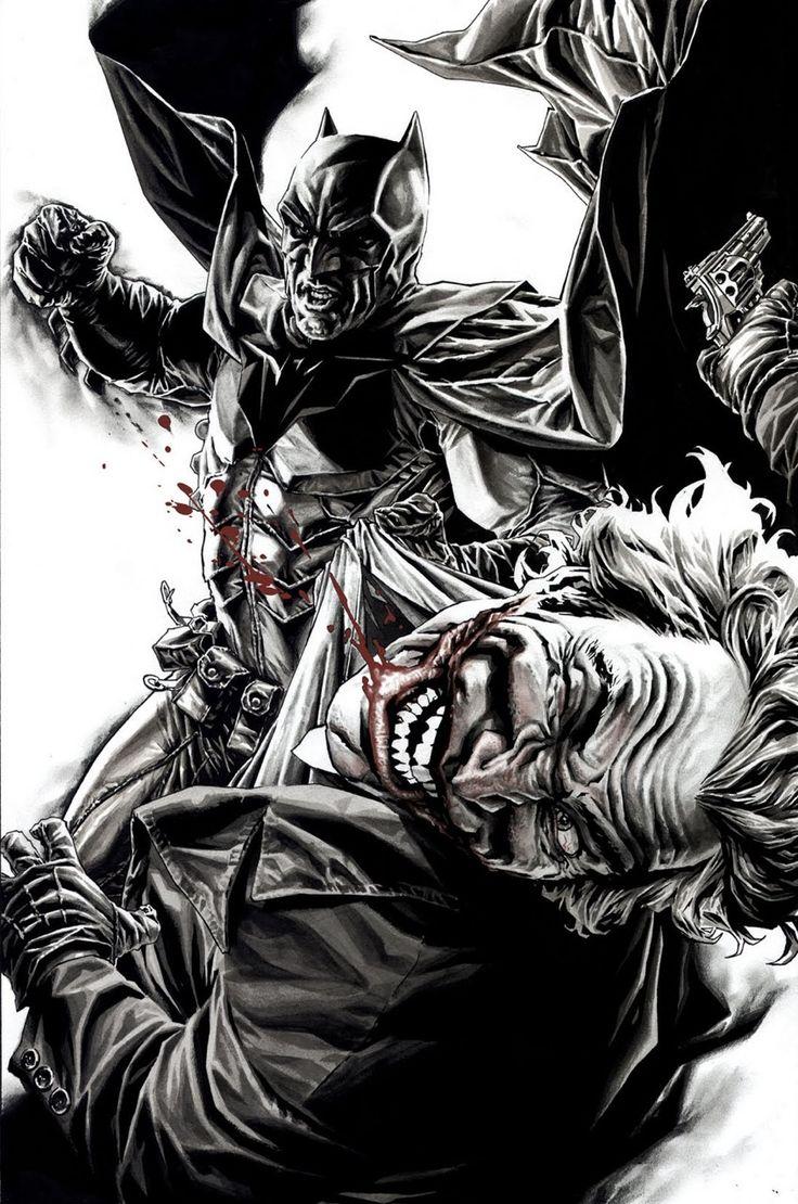 Batman vs Joker - Lee Bermejo (2011)www.comicaddictz.com the Hottest Comic news , Artist and Cosplay website !!