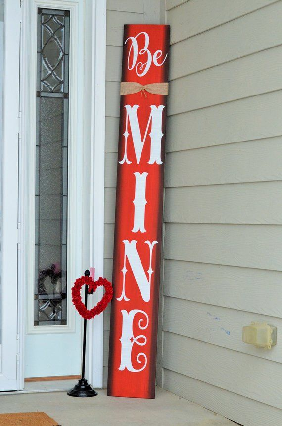5FT Valentines Day Porch Sign