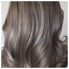 Photo Hair Legacy A Silvery Overlay Gives Colors A Cool Metallic Gloss That S Totally On Trend