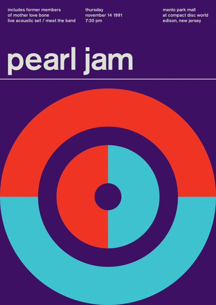 pearl jam at compact disc world, 1991