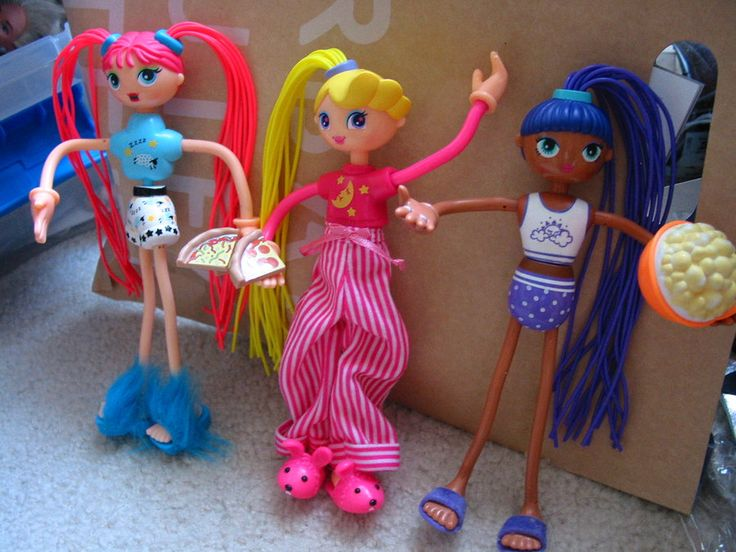 Betty Spaghetty dolls! I remember being so excited when they would be in the McDonald's toys!