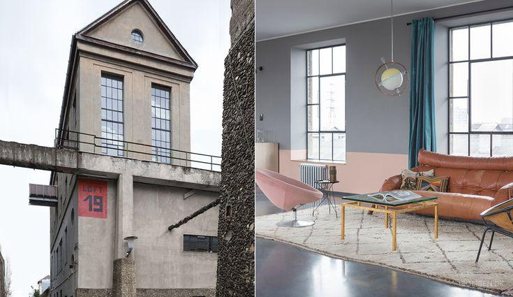 Couple tranforms amory to amazing designer flat.