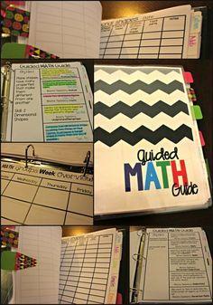 Guided Math Binder - Tunstall's Teaching Tidbits