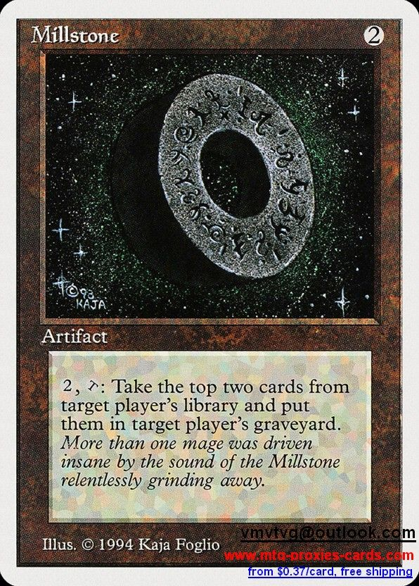 Millstone.xlhq Magic The gathering proxy mtg proxies cards customize from 0.37$ free shipping SUM - Summer Magic (Edgar)